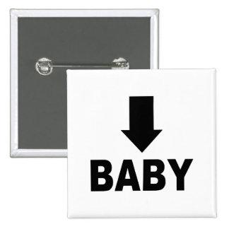 Flecha del bebé pin