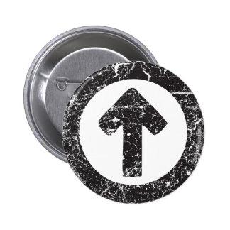 Flecha del círculo pin
