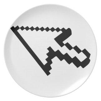 Flecha del cursor platos