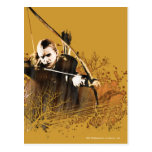 Flecha del tiroteo de Legolas Tarjeta Postal