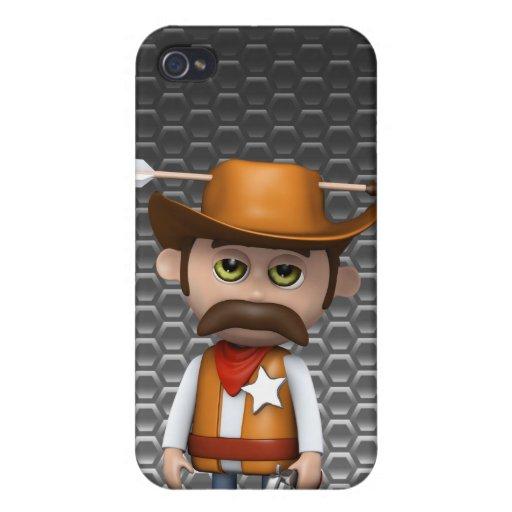 flecha del vaquero 3d iPhone 4/4S funda