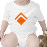Flecha geométrica 01 trajes de bebé