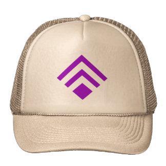 Flecha geométrica 02 - púrpura gorros