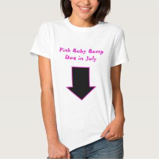 Flecha, topetón rosado del bebé debido en julio camisas