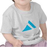 Flecha triangular 03 camiseta