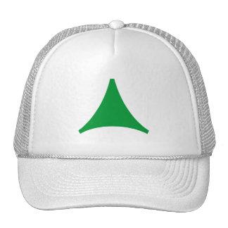 Flecha trilátera gorra