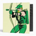 Flecha verde del tiroteo de la flecha