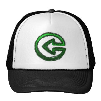 flecha verde gorras de camionero