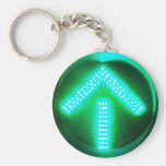 Flecha verde llavero