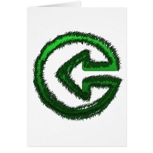 flecha verde felicitaciones