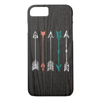 Flechas bosquejadas en el caso del iPhone 7 de la Funda iPhone 7