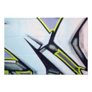 Flechas de la pintada de la calle fotografías