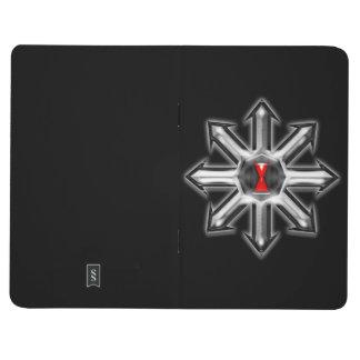 Flechas del caos - viuda negra cuadernos grapados