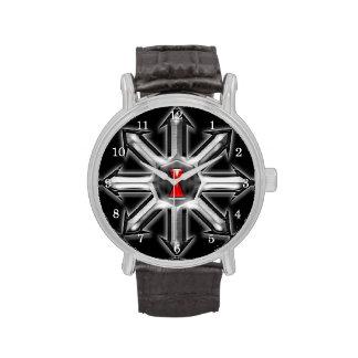 Flechas del caos - viuda negra reloj de mano