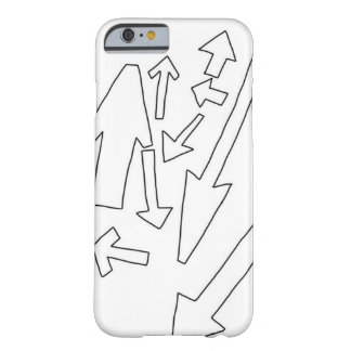 Flechas Funda Barely There iPhone 6