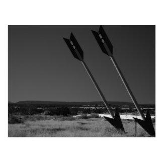Flechas gemelas, postal de Arizona