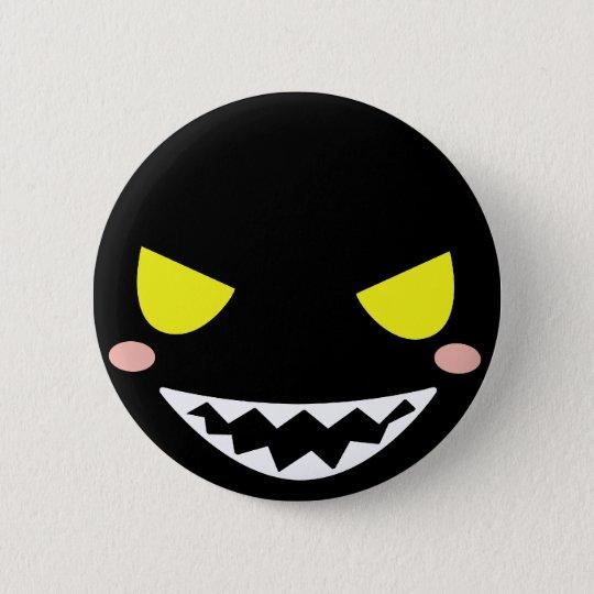 Fleck the Black Ghost Head Button