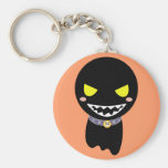 Fleck the Black Ghost Key Chains