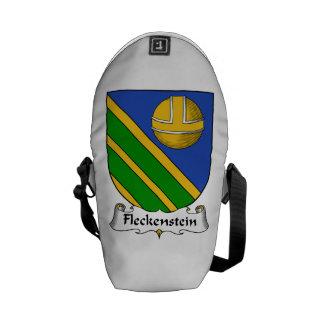 Fleckenstein Family Crest Messenger Bags