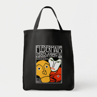 Fledermaus Theater and Cabaret Canvas Bags