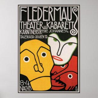 Fledermaus Theater y Cabaret 1907 Impresiones