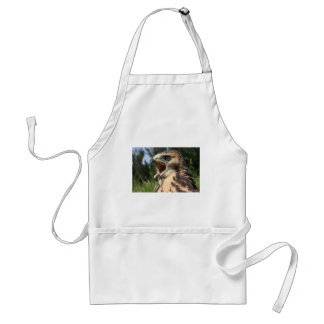 Fledgling Red Tailed Hawk Adult Apron