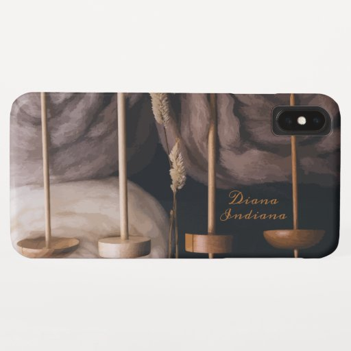 Fleece and Drop Spindles iPhone XS Max Case