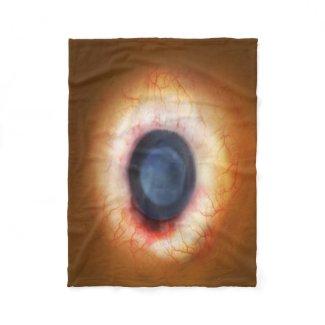 "Fleece Blanket, 30""x40""All Seing Eye"