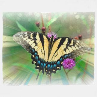 Fleece Blanket/Butterfly
