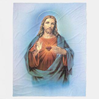 Fleece Blanket/Jesus