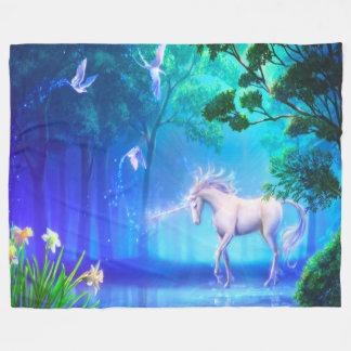 Fleece Blanket/Unicorn