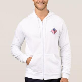 Fleece-lined jacket White Man the USA