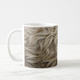 Fleece Basic White Mug