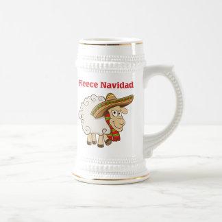 Fleece Navidad Beer Stein