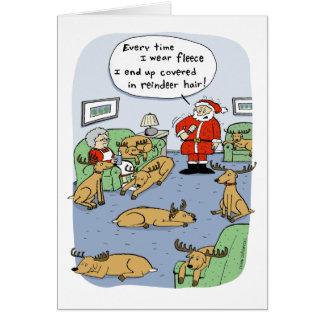 """""""Fleece Navidad"""" Card"""