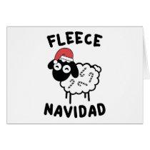 Fleece Navidad Card
