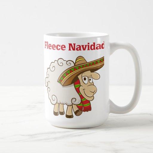 Fleece Navidad Classic White Coffee Mug