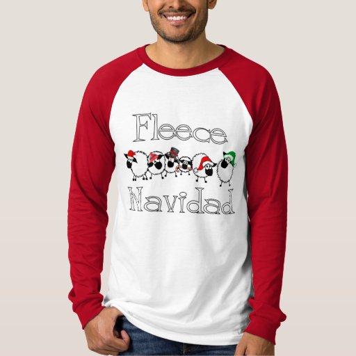 Fleece Navidad Funny Christmas Shirt