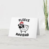 Fleece Navidad Holiday Card
