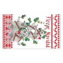 Fleece Navidad Stickers