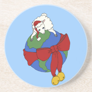 Fleece On Earth Coaster