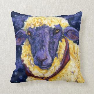 Fleece On Earth - Starry Night Sheep Pillows