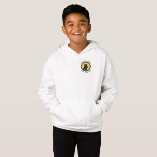 Fleece Pullover Hoodie: Science Smart Caveman