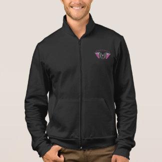 Fleece Zip Jogger - (Man's Fit) For Women Printed Jackets