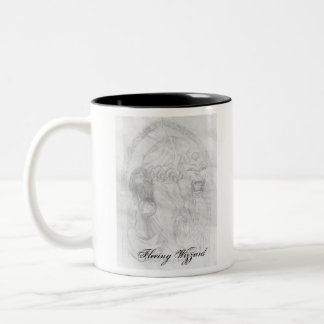 , Fleeing Wizzard, Wizz... Two-Tone Coffee Mug
