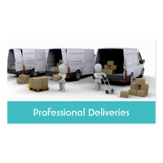Fleet and Haulage Business Card