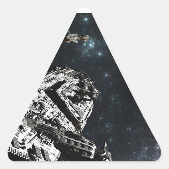 Fleet Deployment II Triangle Sticker
