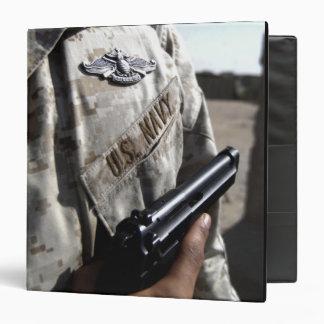 Fleet Marine Force Warfare Device 3 Ring Binder