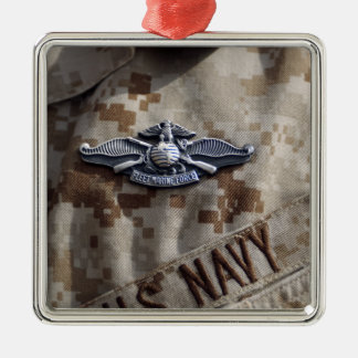 Fleet Marine Force Warfare device pin Metal Ornament