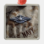 Fleet Marine Force Warfare device pin Christmas Ornaments